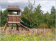 Children's play area at Little Edstone